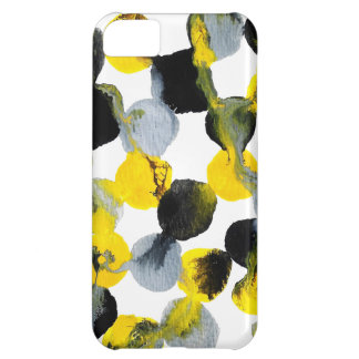 Intertactions amarillo, gris y negro carcasa iPhone 5C