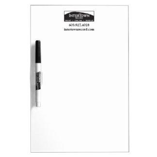 InterTown de registro seca al tablero del borrado Tablero Blanco