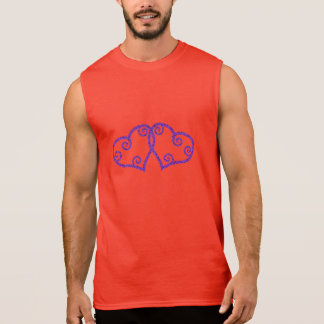 Intertwined Hearts Sleeveless Shirt