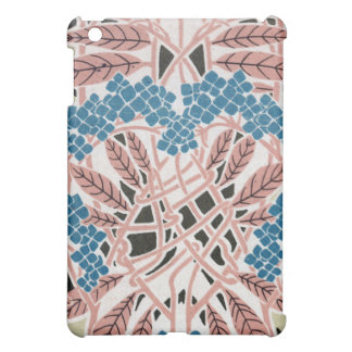 intertwined lovely colorful art nouveau nature cover for the iPad mini