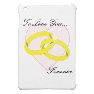 Intertwined Wedding Rings iPad Mini Case