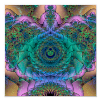 "Intertwining (12"" x 12"") Art Print Poster"