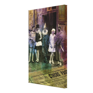 Interval at the Circus Stretched Canvas Prints