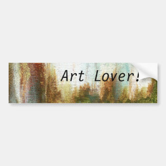 Interval Bumper Sticker Art Lover From Painting