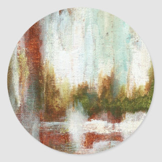 Interval From Original Painting Stickers