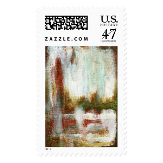 Interval Large Postage Stamp From Painting