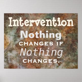 Intervención: Pensado para el poster del día