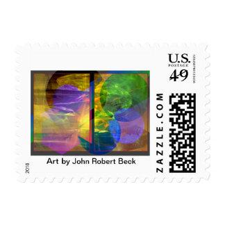 Intervención progresiva timbre postal