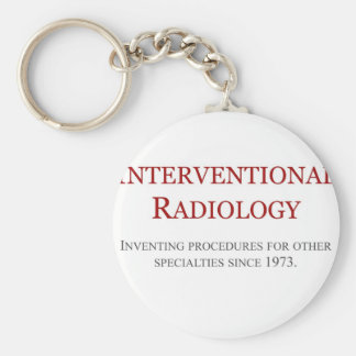 Interventional Radiology Keychain