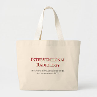Interventional Radiology Large Tote Bag