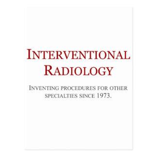 Interventional Radiology Postcard