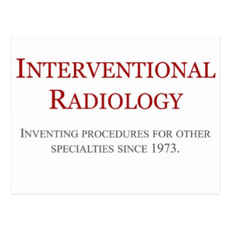 Interventional Radiology Postcard