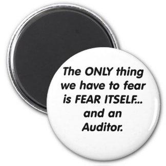interventor del miedo imán redondo 5 cm