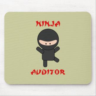 interventor del ninja alfombrillas de raton