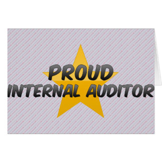 Interventor interno orgulloso felicitacion