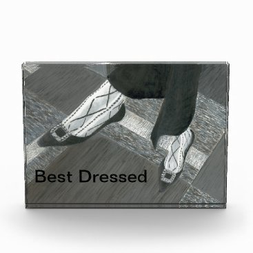 Professional Business Interview Shoes Acrylic Award
