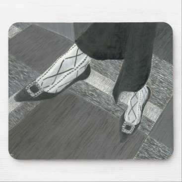 Professional Business Interview Shoes Mouse Pad