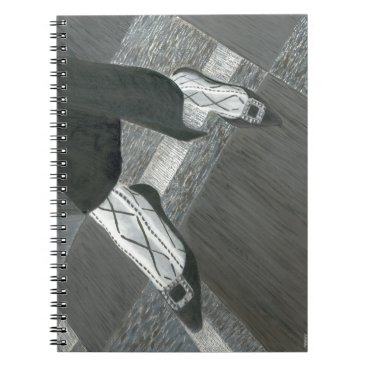 Professional Business Interview Shoes Notebook