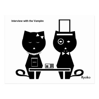 Interview with the Vampire Postcard