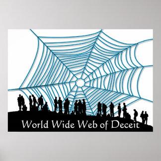 Interweb del engan@o póster