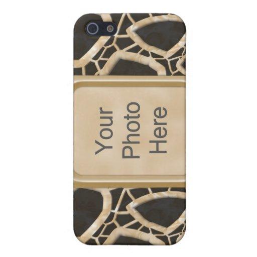 Interwebs de oro iPhone 5 carcasa