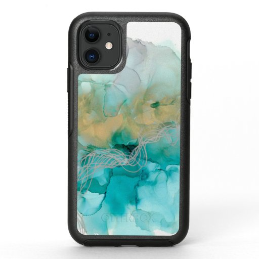 Interwoven Metallics OtterBox Symmetry iPhone 11 Case