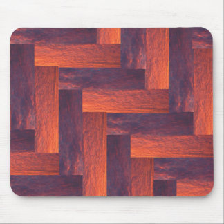 Interwoven Warmth Mouse Pad