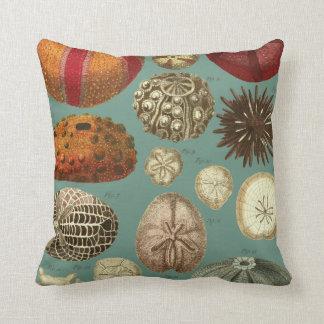 Intestina et Mollusca Linnaei Throw Pillow