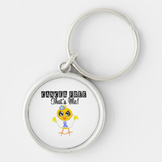 Intestinal Cancer - Cancer Free That's Me Keychains