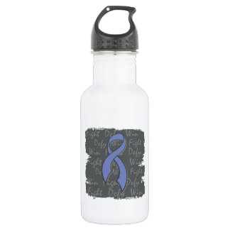 Intestinal Cancer Fight Defy Win 18oz Water Bottle