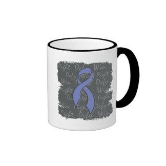 Intestinal Cancer Fight Defy Win Mugs