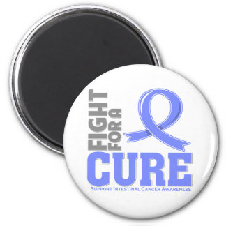 Intestinal Cancer Fight For A Cure 2 Inch Round Magnet