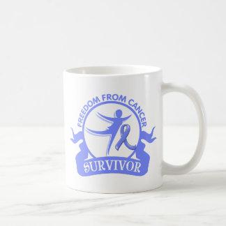 Intestinal Cancer - Freedom From Cancer Survivor Mug