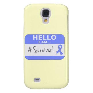 Intestinal Cancer Hello I Am A Survivor Galaxy S4 Covers