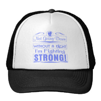 Intestinal Cancer I Am Fighting Strong Trucker Hat