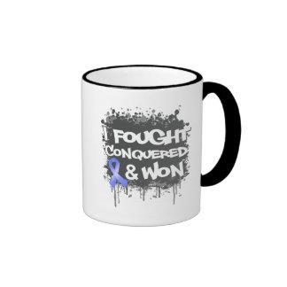 Intestinal Cancer I Fought Conquered Won Mugs