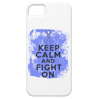 Intestinal Cancer Keep Calm and Fight On iPhone 5 Cases