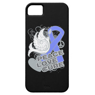Intestinal Cancer Peace Love Cure iPhone 5 Cover