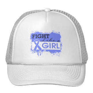 Intestinal Cancer Splatter Fight Like a Girl Trucker Hat