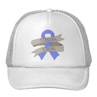 Intestinal Cancer Standing Strong Trucker Hat