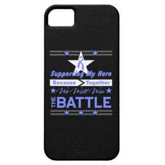 Intestinal Cancer Supporting My Hero iPhone 5 Covers