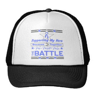Intestinal Cancer Supporting My Hero Trucker Hat