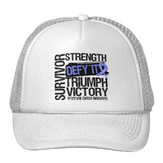 Intestinal Cancer Survivor Defy It Trucker Hat