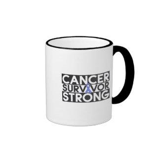Intestinal Cancer Survivor Strong Coffee Mugs