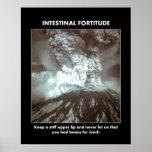 intestinal-fortaleza de ánimo-guardar-uno-tieso-su posters