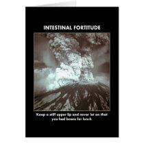 intestinal-fortitude-keep-a-stiff-upper-lip greeting card