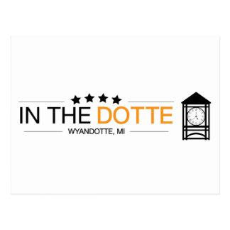 InTheDotte - Wyandotte, MI - Clocktower Postcard