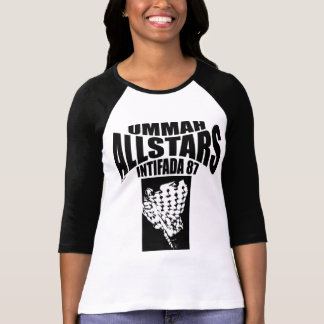 Intifada 87 de Ummah Allstars Camiseta