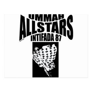 Intifada 87 de Ummah Allstars Postales