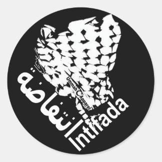 Intifada Classic Round Sticker